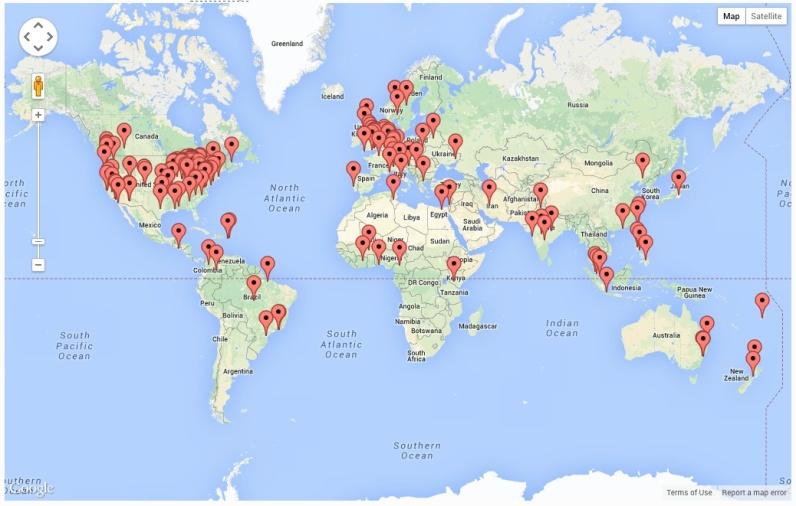 Site Visitors - Global