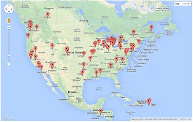 Site Visitors - North America