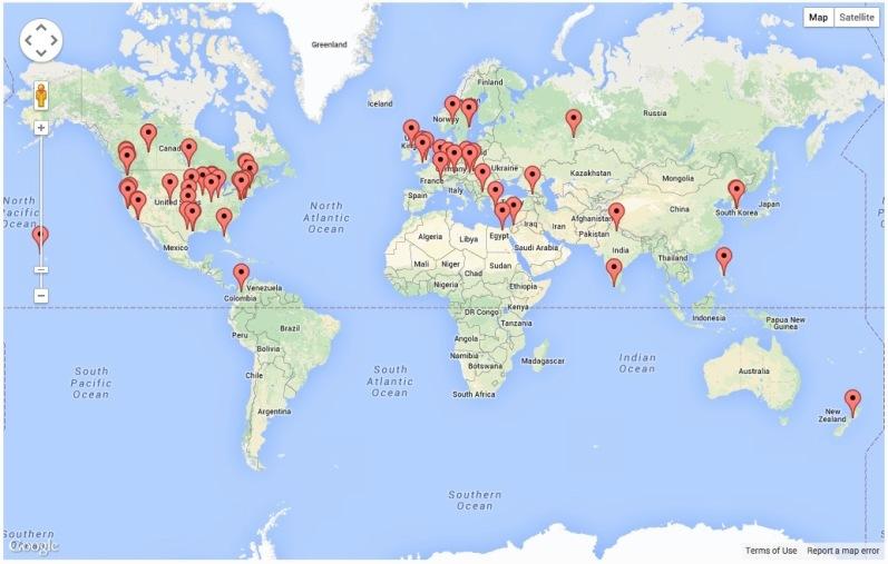 Andromeda Page Visits - Global