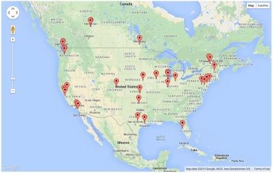 Andromeda Page Visits - North America